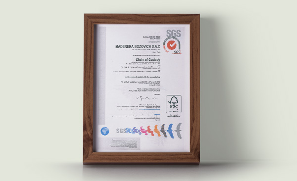 FSC Controlled Wood Certification (CW)