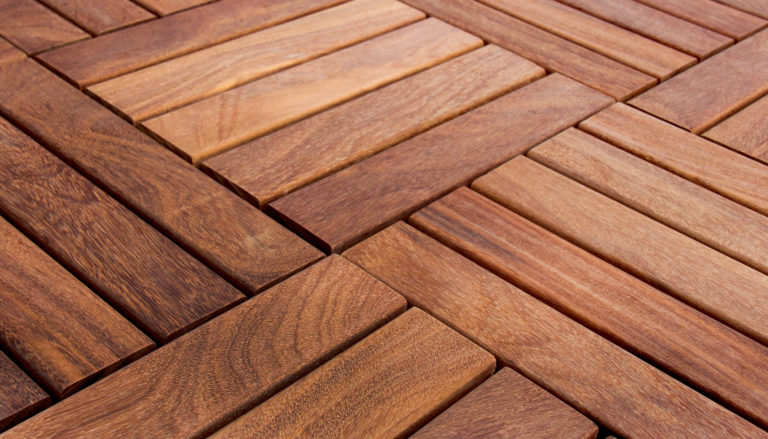 Deck Tiles color Shihuahuaco